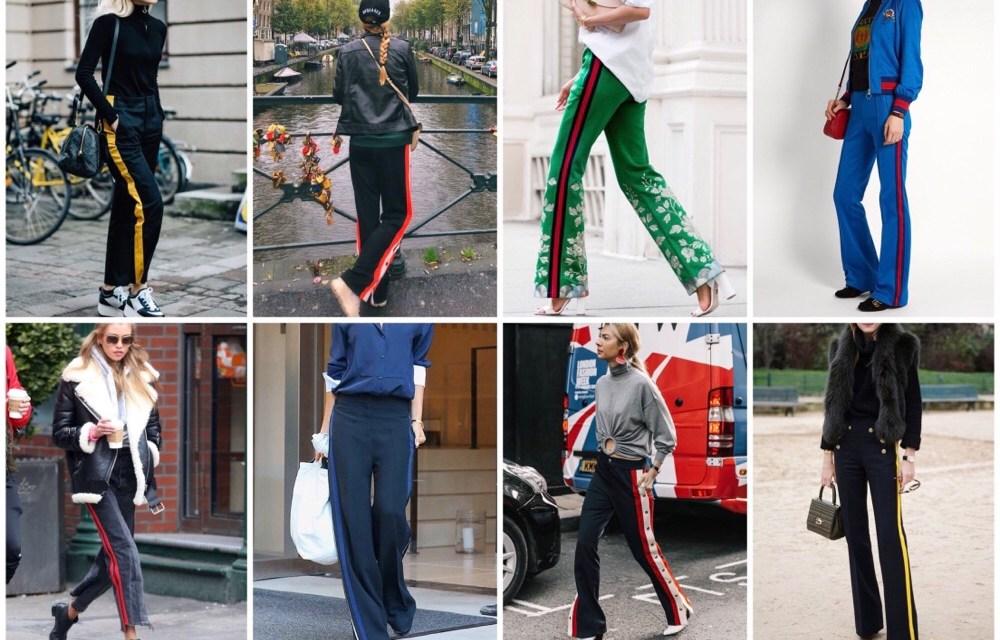 Fashiontrend: wijde broek met strepen (+ inspiratie)