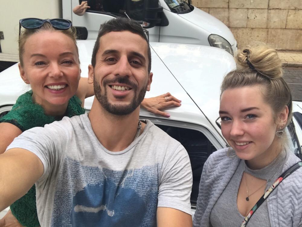 Selfie in Lissabon