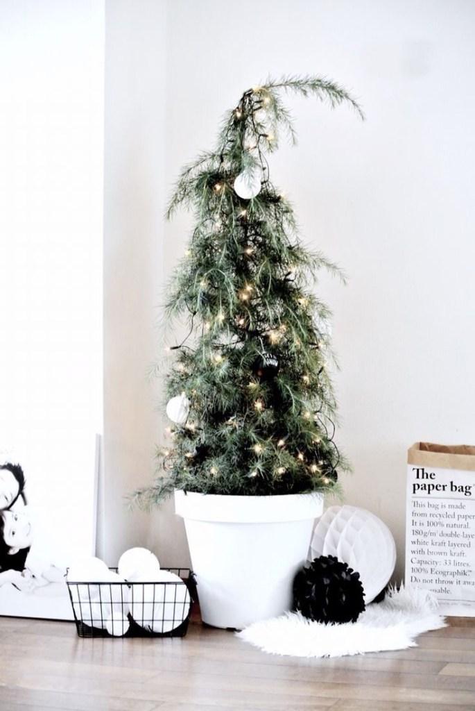 15x inspiratie voor de zwart wit kersttrend