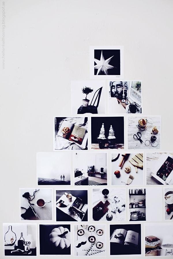 kerstboom van foto's