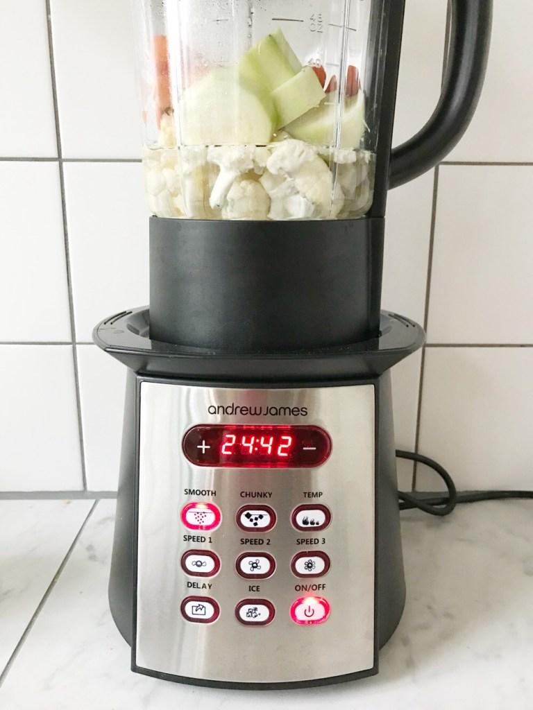 bloemkoolsoep met de soupmaker