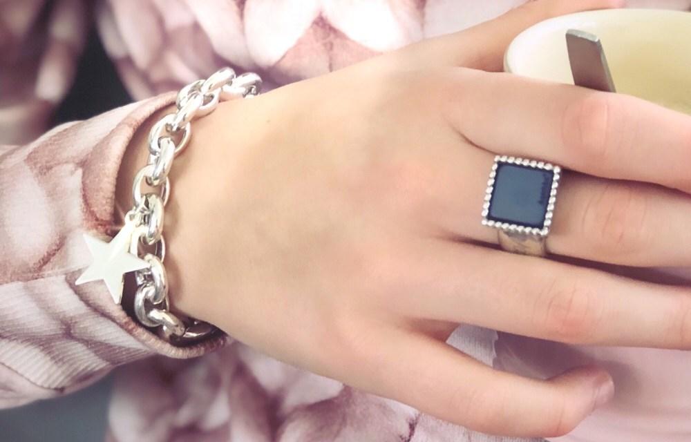 Winnen: k'aschka armband met ster (925 zilver)
