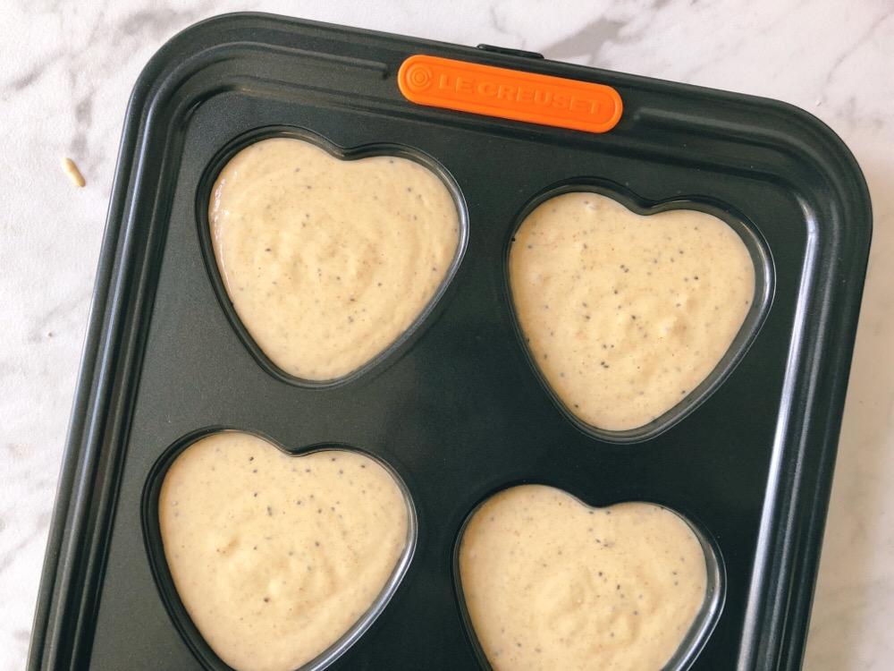 beslag voor muffins uit de blender