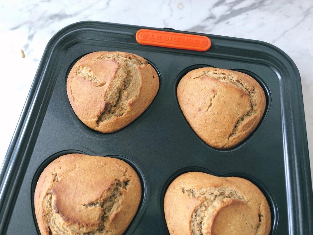 blender muffins met banaan