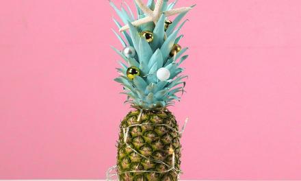 Nieuwe kersttrend: de ananas kerstboom