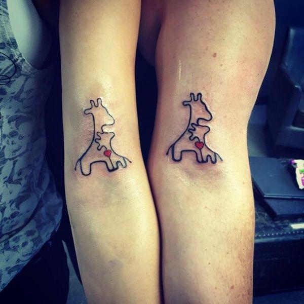 moeder dochter tatoeages