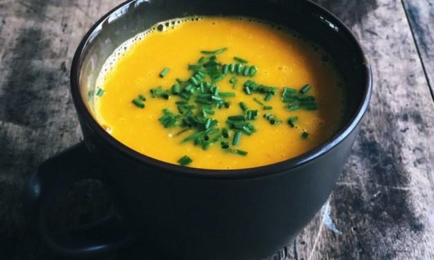 Recept: romige paprikasoep met wortel