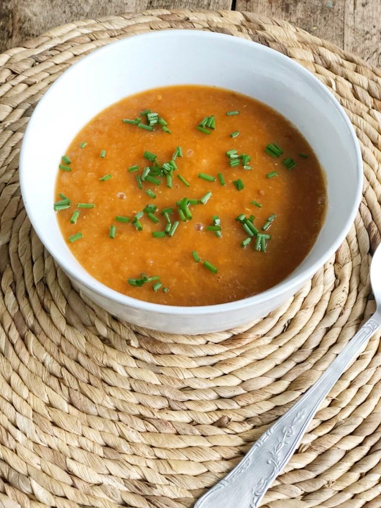 slowcooker recept voor tomatensoep