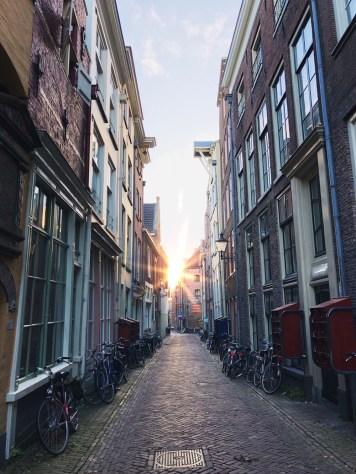 steegjes in Deventer