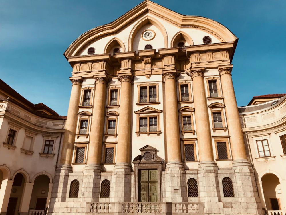 Ljubljana gebouw barok