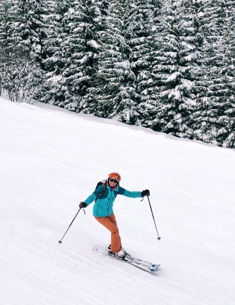 skien in Serfaus