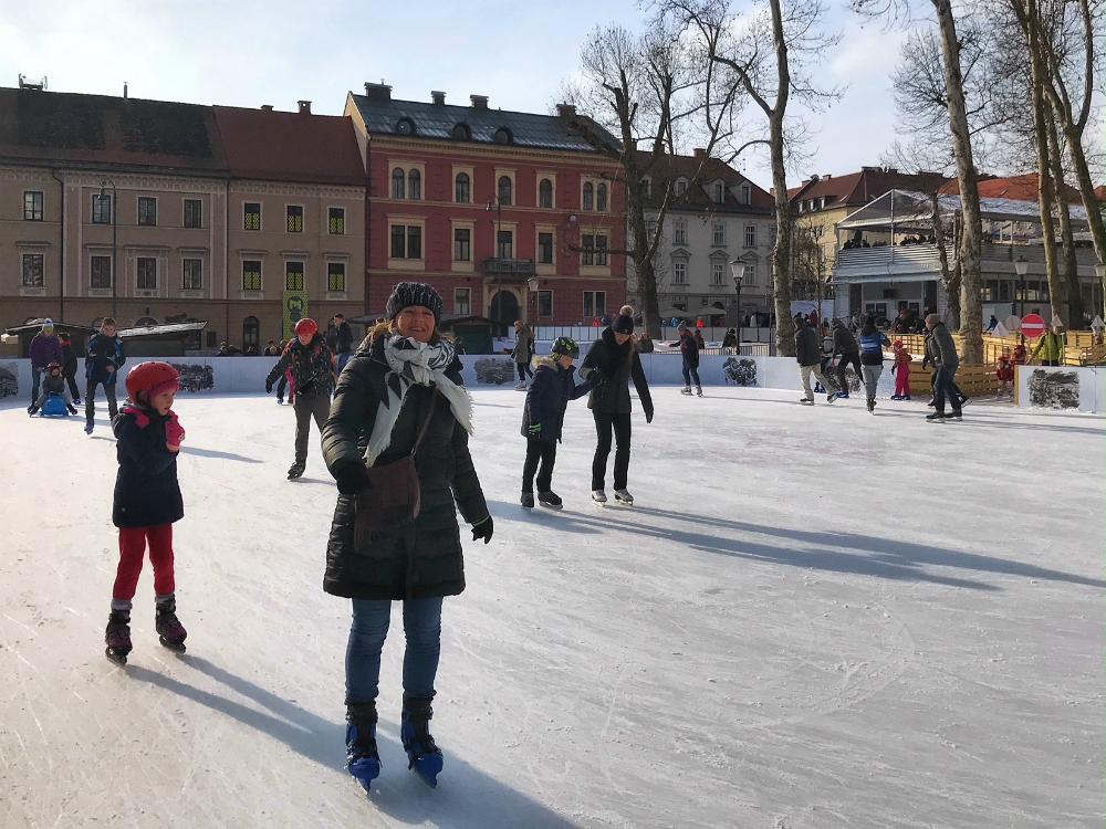 schaatsen ljubljana