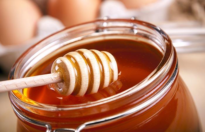 haarmasker met ei en honing