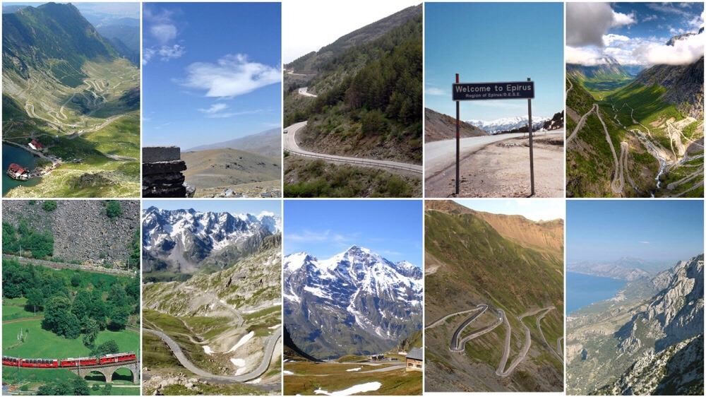 Roadtrip inspiratie: de 10 mooiste bergpassen in Europa