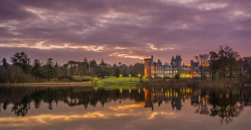 Dromoland castle in graafschap Clare
