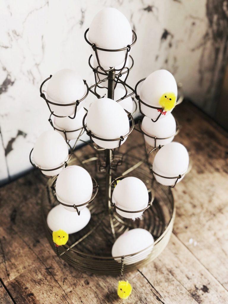 etagere voor eieren
