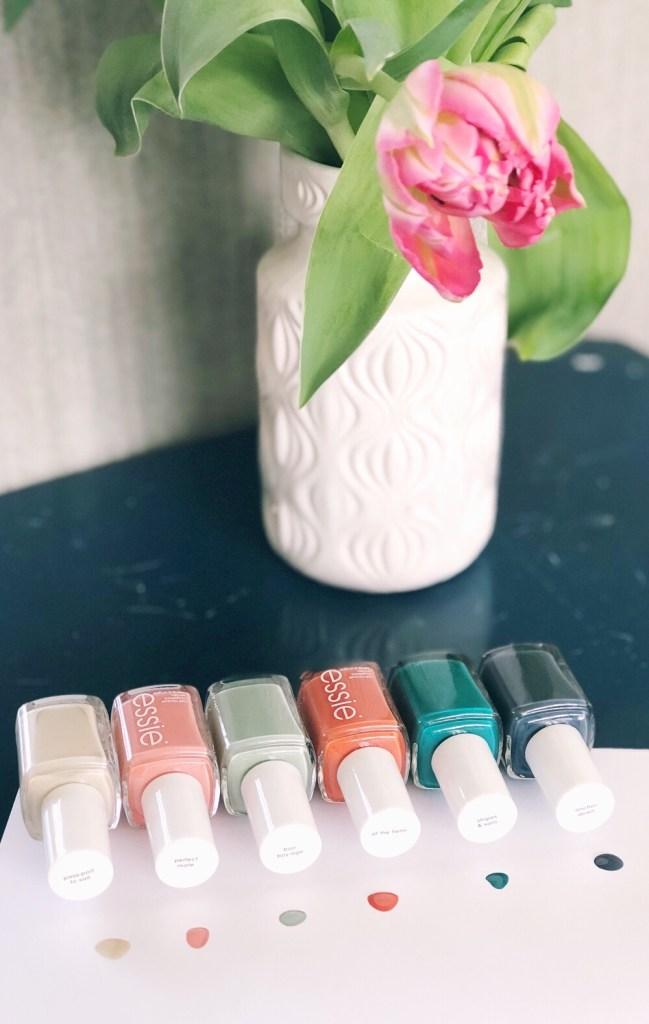 Essie nagellak voorjaarskleurtjes 2018