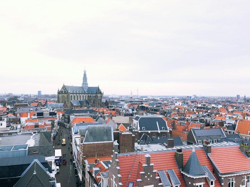 uitzicht Hudson's Bay in Haarlem
