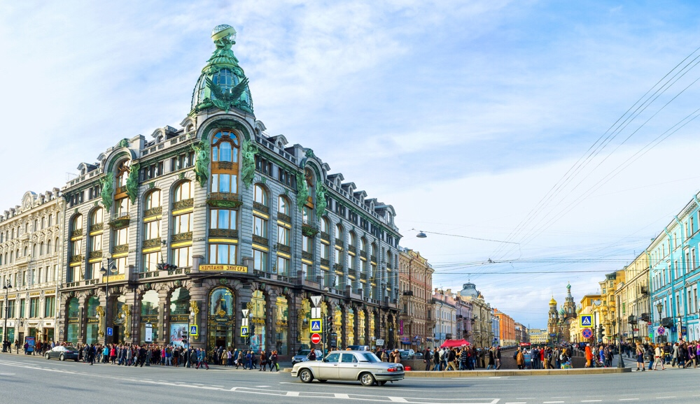 shoppen in Sint Petersburg