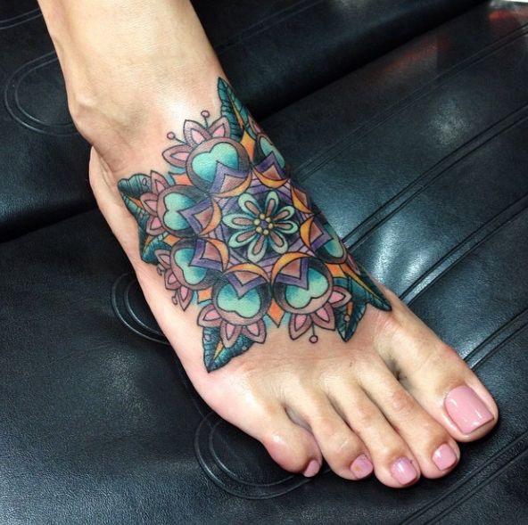 tattoos voor op je voeten inspiratie