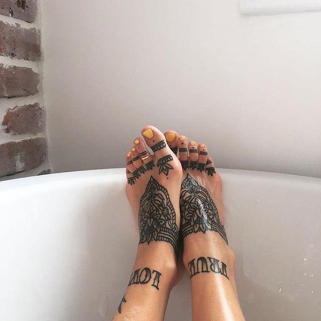 tattoo inspiration foot