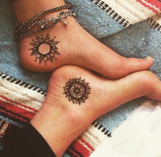 foot tattoo inspiration