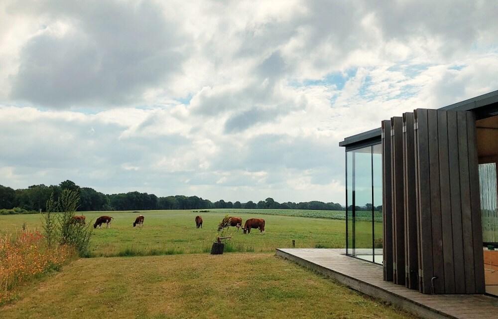 100% relax tip: tiny house De Landschapkamer in Nutter (Twente)