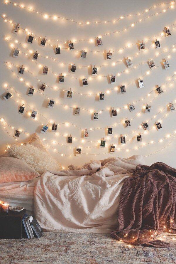 foto's aan kerstlampjes