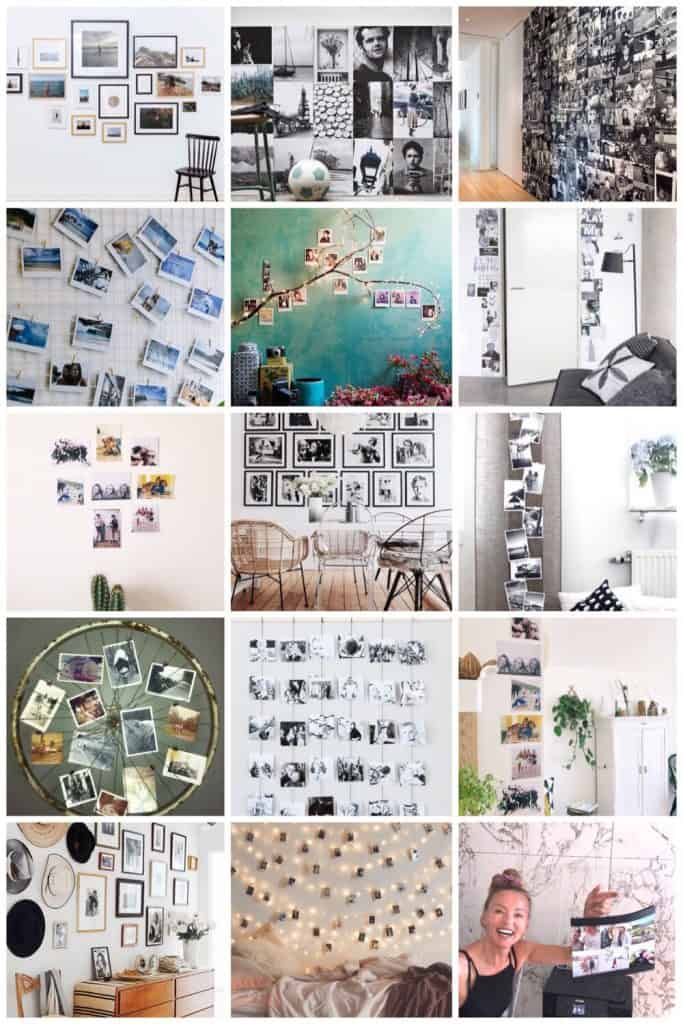 photo wall inspiratie