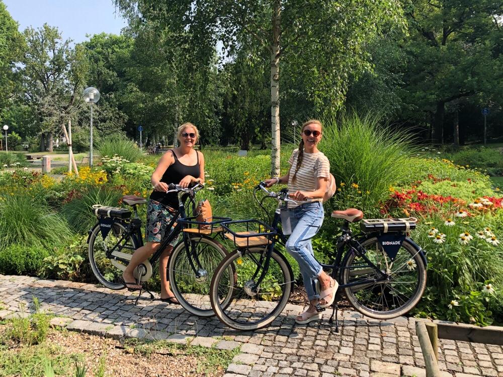 fietsen door Stuttgart