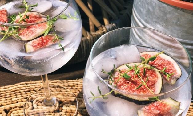 G&T recept: gin tonic met vijg en tijm
