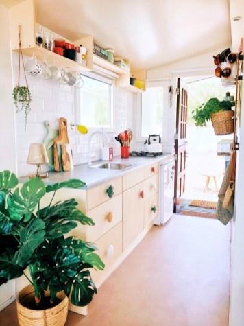nieuwe keuken strandhuisje