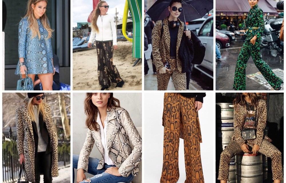 Fashioninspiratie: de dierenprint outfit