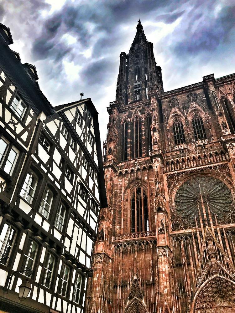 cathedraal van Straatsburg Elzas