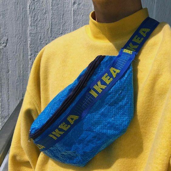 Ikea bum bags