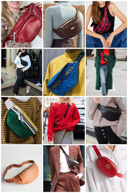 bum bags inspiration