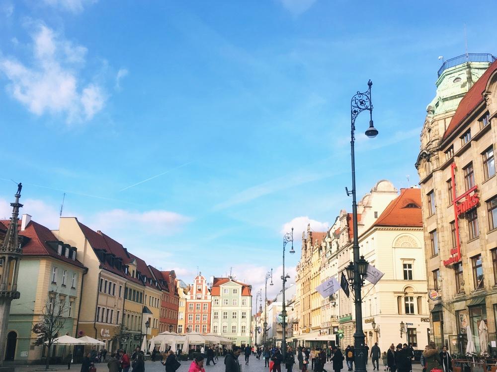Rynek plein citytrip Wroclaw