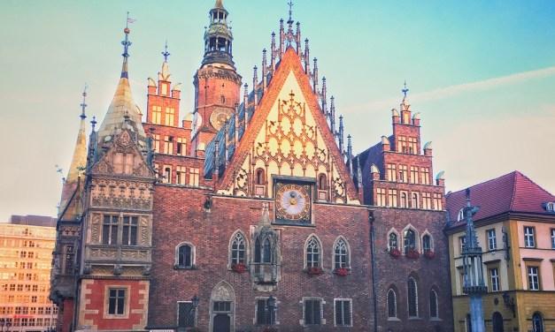 Rynek stadhuis Wroclaw