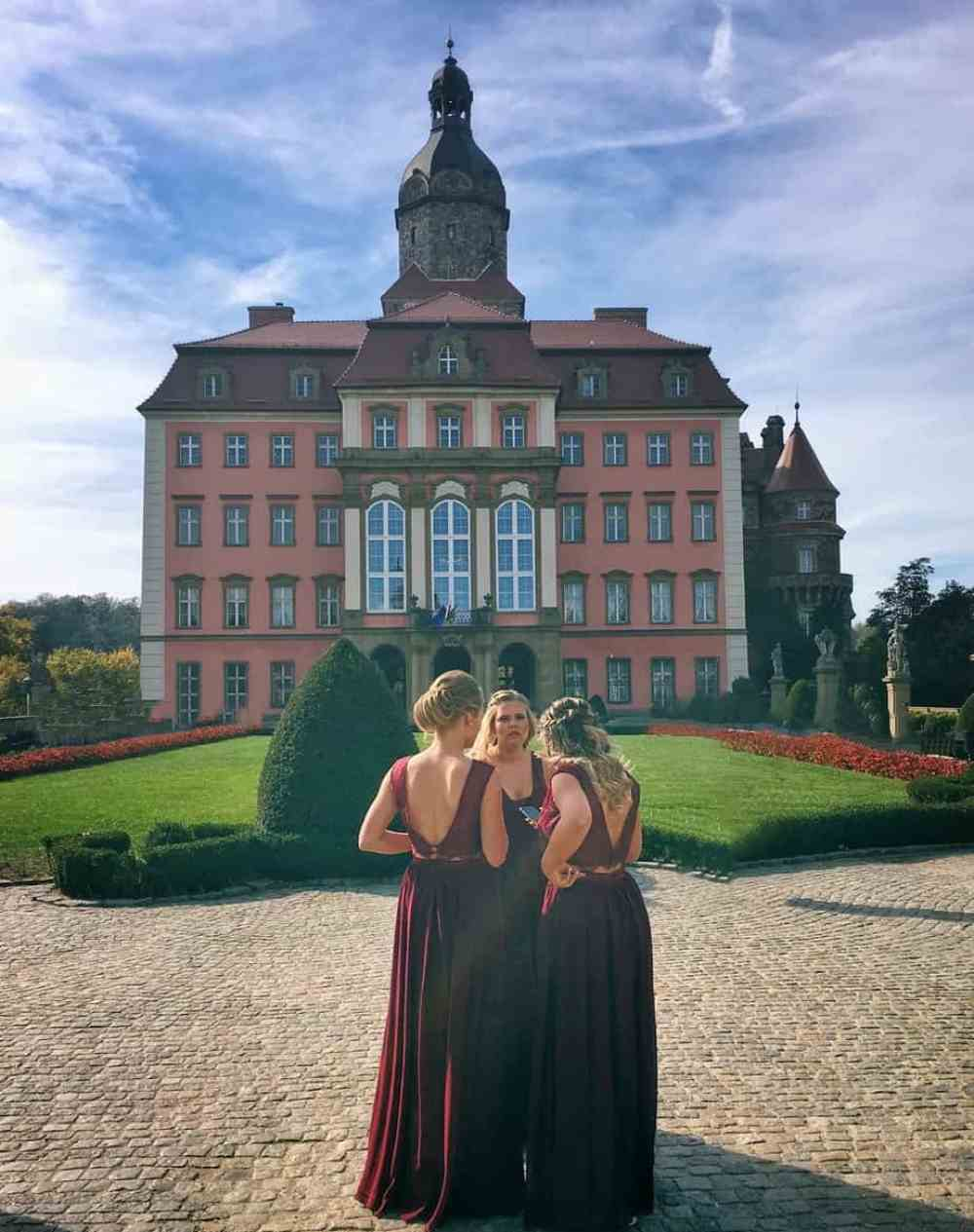kasteel Wroclaw Polen