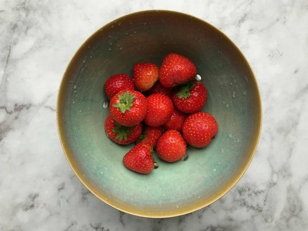 aardbeien voor jam uit de slowcooker