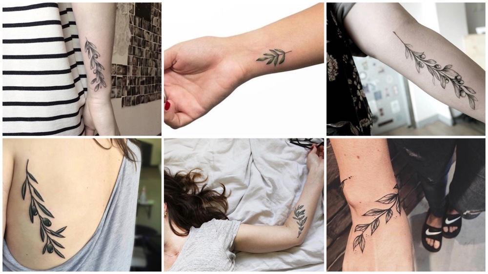 De betekenis van olijftak tattoos + 24x inspiratie