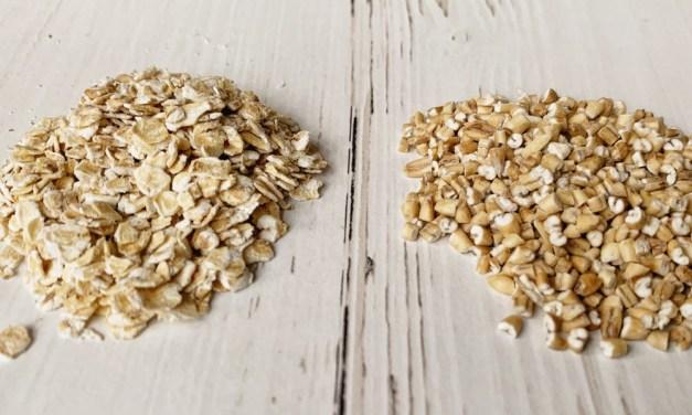 steel cut oats = havergrutten