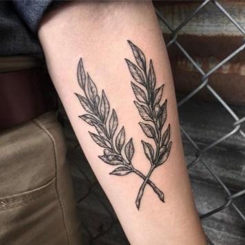 olijftak tattoo inspiratie + betekenis