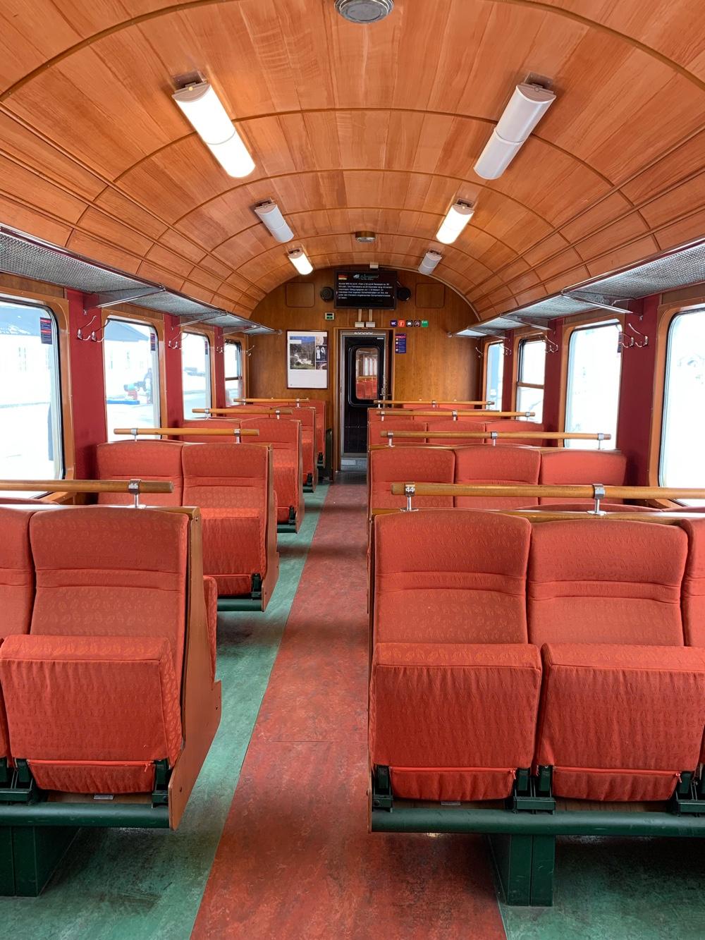 Interior Flam train