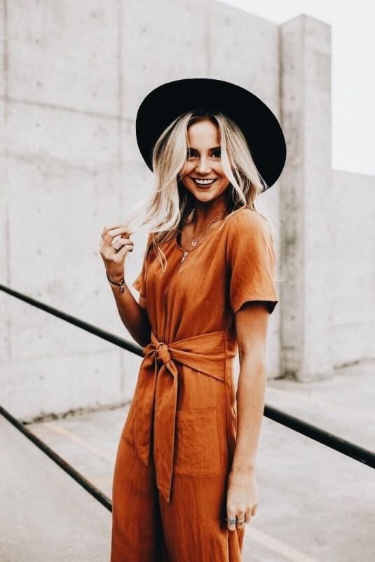 oranje jumpsuit