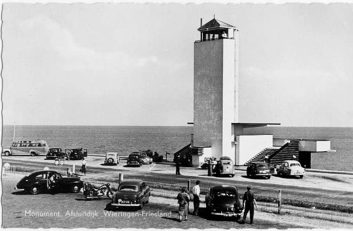 Monument Afsluitdijk 1933