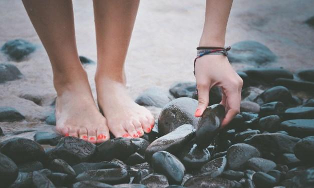 Simpel voetenbadje tegen eelt (met mondwater!!)