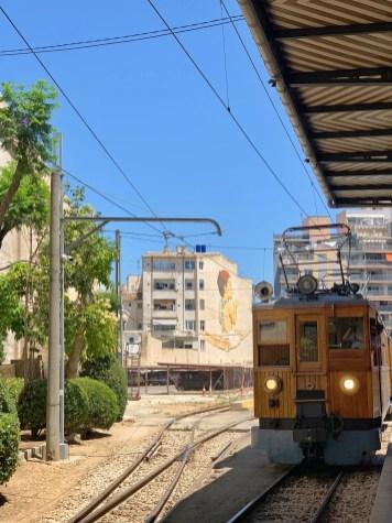 trein van Palma naar Soller