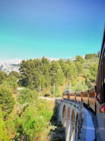 treinritje van Palma naar Soller