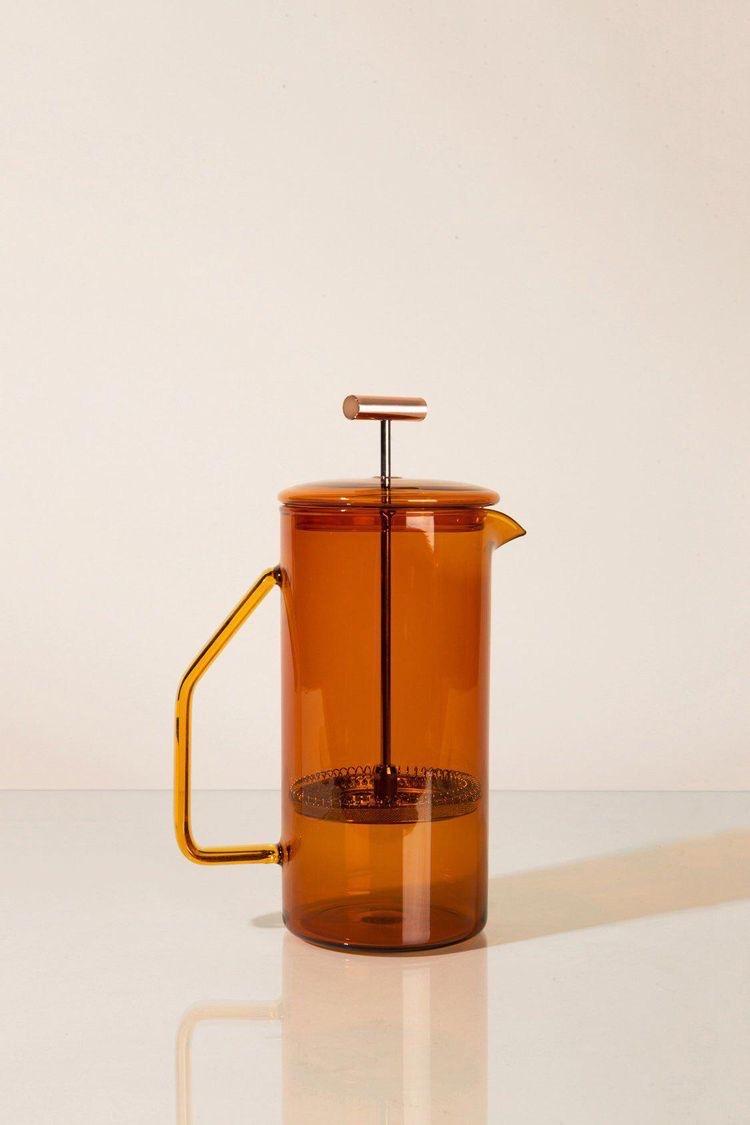 cafetiere van glas